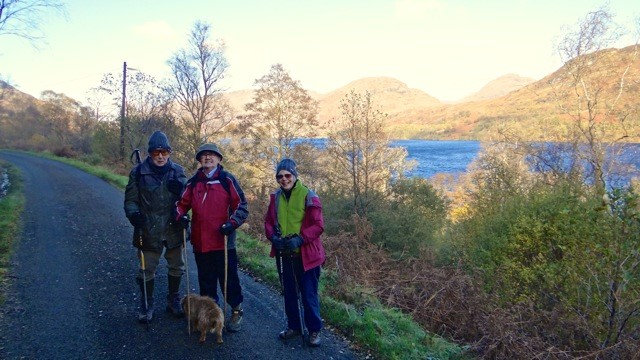 StM Ramblers at Loch Katerine