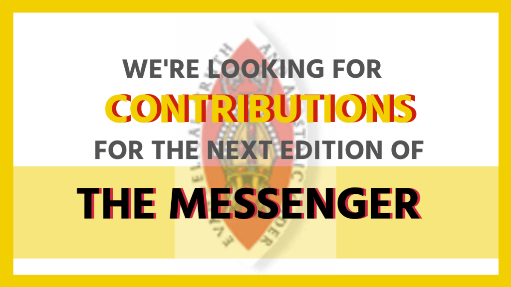Request for contributions for The Messenger