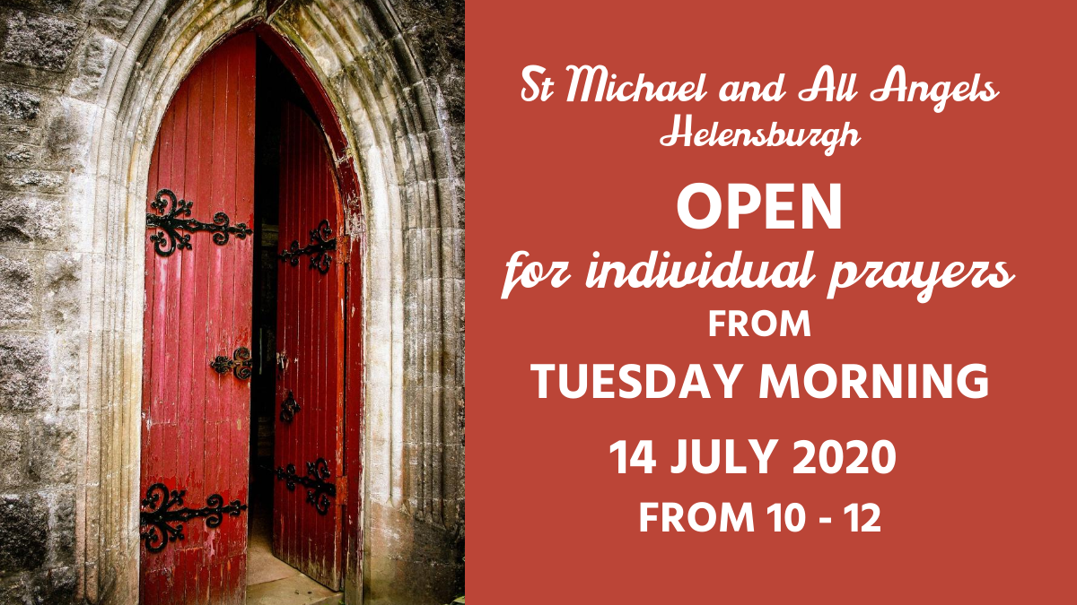 St Michael Open For Private Prayer