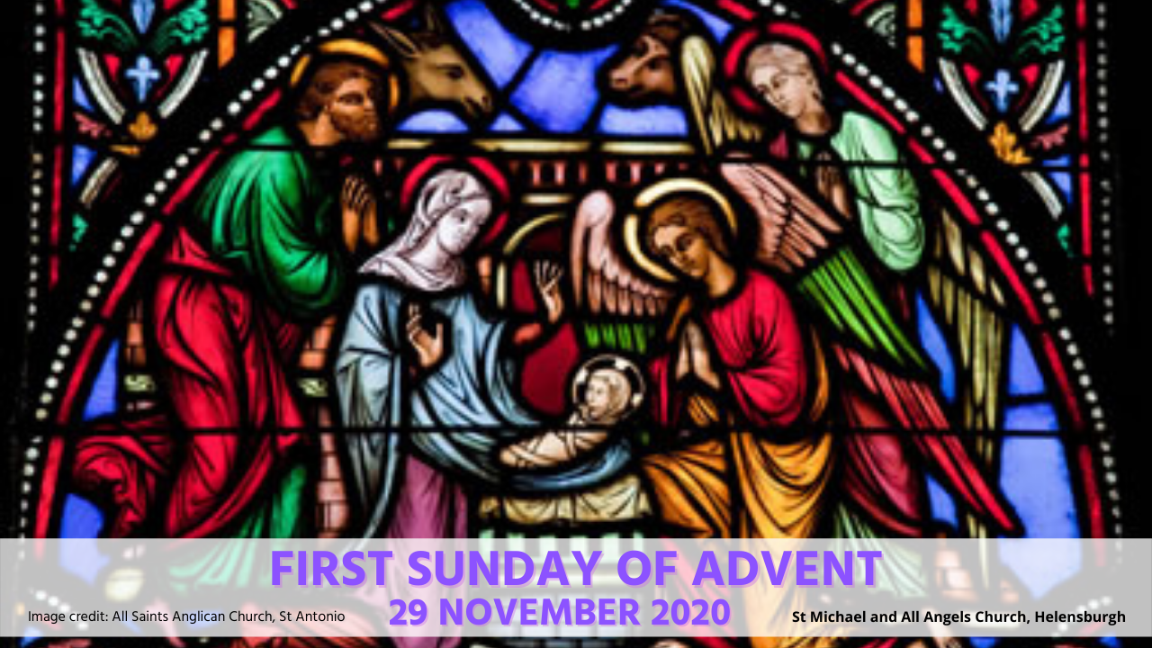 First Sunday of Advent Stained Glass window