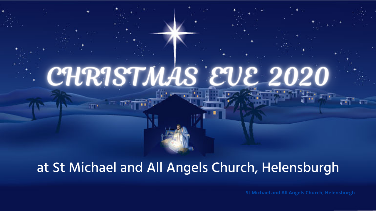 Christmas Eve at St Michaels Notice